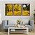 Quadro Decorativo Floresta Amarela - Imagem 3