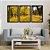 Quadro Decorativo Floresta Amarela - Imagem 4