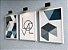 Quadro Decorativo Love Abstrato Azul  - Imagem 5