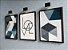 Quadro Decorativo Love Abstrato Azul  - Imagem 7