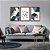 Quadro Decorativo Love Abstrato Azul  - Imagem 3