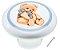 Puxador Urso Para Móveis Infantil Cerâmica IL1737 - Imagem 1