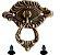 Puxador Brinco Colonial Luiz XV J Roma 213-66 - Imagem 1