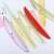 Régua Plástica Frutas 15 cm  - Imagem 1