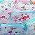 Estojo Transparente Aqua Flamingo - Imagem 1