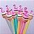 Caneta Gel Flamingo Muffin - Imagem 1