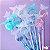 Caneta Borboleta Cristal Perfumada 10 un  - Imagem 1