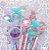 Caneta Borboleta Cristal Perfumada 10 un  - Imagem 3