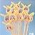 Caneta Pikachu Lantejoula 10 un  - Imagem 1