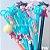 Kit Canetas Sortidas Personagens Anime 10 un - Imagem 1