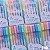 Marca Texto com Glitter 6 cores - Imagem 1