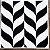 Revestimento Autoadesivo Resinado - Nature Black & White - Imagem 5