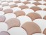 Revestimento Autoadesivo Resinado - Scales Rosé Gold - Imagem 3