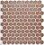 Revestimento Autoadesivo Resinado - BEE Rosé Gold - Imagem 1