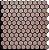 Revestimento Autoadesivo Resinado - BEE Black Rosé Gold - Imagem 1