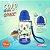Copo Infantil Com Canudo Space Tritan Comtac kids 4372 - Imagem 4