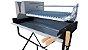 Parrilla Caminito Preta / Simples / Grelha Regulável de Aço Inox 304 / Queimador de Aço Inox para Alta Temperatura - Imagem 4