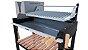 Parrilla Recoleta Preta / Simples / Grelha Regulável de Aço Inox 304 / Queimador de Aço Inox para Alta Temperatura - Imagem 5