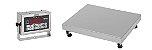 Balança Industrial DP 500 ( IDR 10000 ABS ) - TOTAL INOX 304 - Plat. 60x60 - ( Cap. 500kg/100g ) - Ramuza - Imagem 1