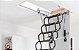 Escada Sótão FAKRO Pantográfica - METAL - Super Reforçada !! 70cm x 80cm x 280cm ( Até 320 cm ) - Imagem 4