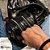 Necessaire Duo Pocket Confort Croco Preto - Imagem 3