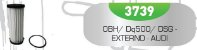 Filtro de Transmissão Automática Externo 0BH/DQ500 DSG - AUDI VW - Imagem 3