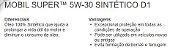 Mobil Super 5W30 SINTÉTICO 1 LT - Aprovação GM dexos1 (FORD / CHRYSLER) API SP GF-6 - Imagem 3