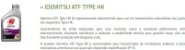 Óleo de Câmbio Automático IDEMITSU ATF TYPE HK SP-III - Hyundai Kia Mitsubishi - Imagem 3