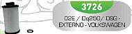 Filtro de Transmissão Automática 02E/DQ250/DSG EXTERNO - VW Audi - Imagem 2