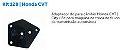 Adaptador Kit 128 Tektino Launch - Honda NEW FIT CITY HRV CVT GD7A - Imagem 2