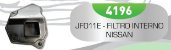 Filtro de Transmissão Automática JF011E-INT - CVT Nissan Mitsubishi Renault Fluence - Imagem 1