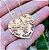 Colar coração com pingente personalizado banhado a ouro 18k  (pz entrega 45 dias) - Imagem 4