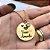 Colar redondo Vovó Amada personalizado com ponto de luz banhado em ouro 18k  - Imagem 3