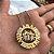 Mandala dupla com nome e pingente dos filhos forever banhada a ouro 18k (pz entrega 45 dias úteis) - Imagem 1