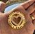 Colar mandala dupla coração banhada em ouro 18k (pz entrega 45 dias úteis) - Imagem 3