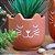 Cachepô em Cimento Terracota Gato Pequeno - Imagem 2