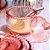 Açucareiro de Cristal com Colher Pearl Rosa - Imagem 2