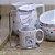 Kit Mini Caneca de Porcelana com Coador Vida Família - Imagem 2