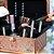 Maleta de Maquiagem com Divisórias Cristal Rose Gold Holográfico Grande - Imagem 3