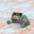 Porta-Joias em Metal Prata Quadrado - Imagem 2