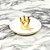 Porta-Joias em Cerâmica Coroa Dourada - Imagem 3