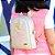 Bolsa Mochila Infantil Flamingo Bege Pequena - Imagem 2