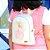 Bolsa Mochila Infantil Flamingo Branca Pequena - Imagem 2