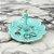 Porta-Joia em Cerâmica Pavão Turquesa - Imagem 2