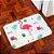 Tapete Poliéster Macio Flamingo Branco - Imagem 2