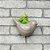 Cachepô de Cerâmica Pássaro Cinza Pequeno - Imagem 2