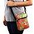 Bolsa Transversal Shoulder Bag Frida Kahlo Pitaia e Melancia Vermelha - Imagem 2