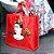 Eco Bag Frida Kahlo Flores Vermelhas - Imagem 2