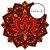Tapete Mandala Flor de Lótus Laranja, Marrom e Amarelo - Imagem 3