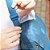 Bolsa Lateral Crinkle Azul - Imagem 3
